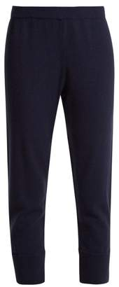 Allude Cashmere Knitted Trousers - Womens - Dark Navy