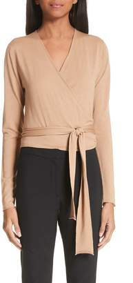 Proenza Schouler Merino Wool Wrap Sweater