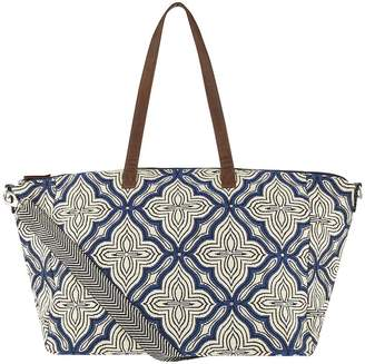 Accessorize Nomad Woven Weekender - Blue