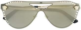 Versace Eyewear embellished aviator sunglasses