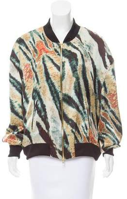Baja East Printed Silk Jacket w/ Tags