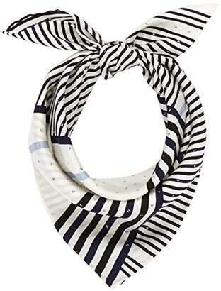 Calvin Klein Women's Silk Logo Foulard Giftpack Scarf