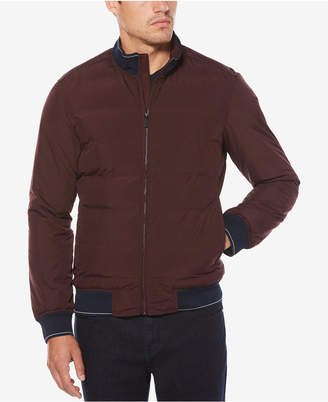 Perry Ellis Men's Quilted Full-Zip Puffer Jacket