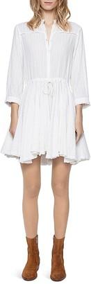 Zadig & Voltaire Ranil Striped Dress $348 thestylecure.com