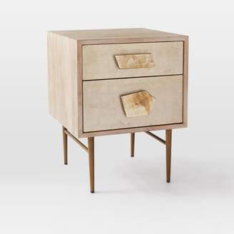 west elm Roar + Rabbit Jeweled 2-Drawer Nightstand