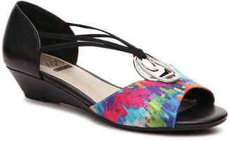 Women's Regis Wedge Sandal -Taupe $52 thestylecure.com
