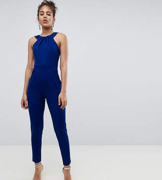 City Goddess Tall Wrap Over Jumpsuit