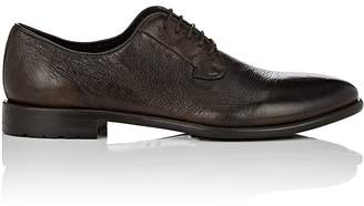 Barneys New York Men's Washed Leather Bluchers