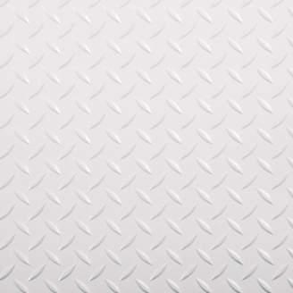 DAY Birger et Mikkelsen G-Floor Race Peel and Stick Tile 1 ft. x 1 ft. Garage Flooring in Absolute White