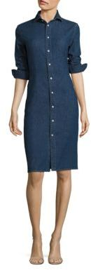 Polo Ralph Lauren Denim Shirtdress $245 thestylecure.com