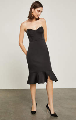 BCBGMAXAZRIA Strapless Bustier Sheath Dress