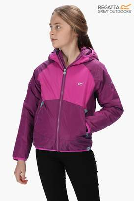 Regatta Girls Volcanics III Waterproof and Breathable Insulated Jacket - Purple