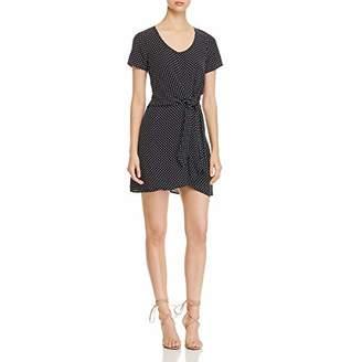 Three Dots Women's DC5868 dot Printed Crepe Dress
