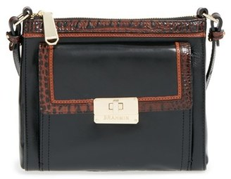 Brahmin 'Mimosa' Crossbody Bag - Black $205 thestylecure.com