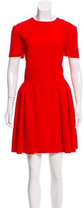 Alexander McQueen Pleated A-Line Dress w/ Tags