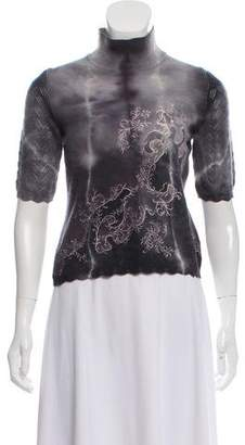 Christian Lacroix Embroidered Knit Sweater
