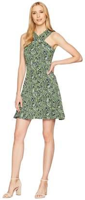 MICHAEL Michael Kors Cross Neck Dress Women's Dress