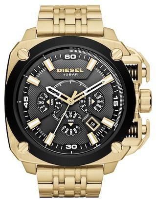 Diesel Men's BAMF Bracelet Watch $375 thestylecure.com
