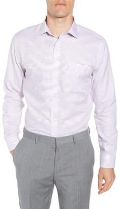 Nordstrom Smartcare(TM) Trim Fit Check Sport Shirt