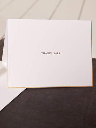 Reformation Sugar Paper For Thank You Card Set
