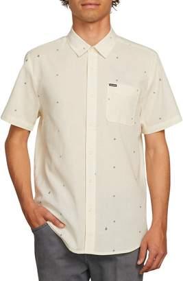 Volcom Quency Print Camp Shirt