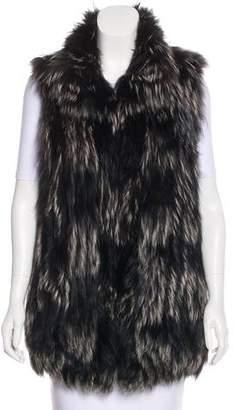 Diane von Furstenberg Dyed Fur Vest