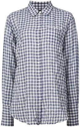 Nili Lotan checked button-down shirt