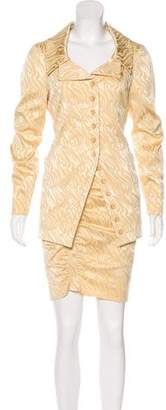 Christian Lacroix Textured Skirt Suit Set