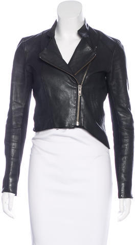 Helmut LangHelmut Lang Distressed Leather Jacket