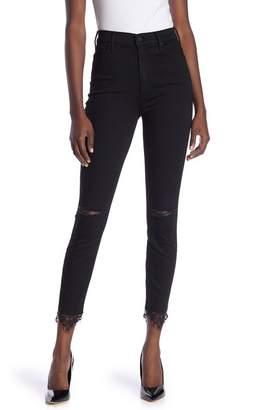 Mother Swooner Dagger Ankle Skinny Jeans