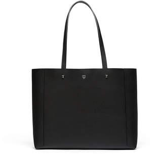 MCM Ilse East-west Shopper In Pebble Grain Leather