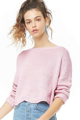 Forever 21 Dropped Shoulder Knit Sweater