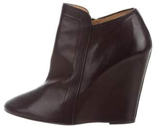Christophe Lemaire Wedge Ankle Boots