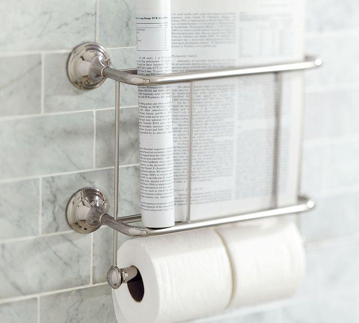 Mercer Magazine Rack & Paper Holder