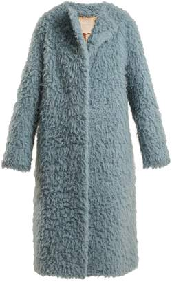 Roksanda Textured camel hair coat