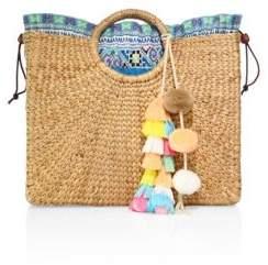JADEtribe Square Basket Beach Bag