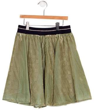 Scotch & Soda Girls' Velvet A-Line Skirt w/ Tags