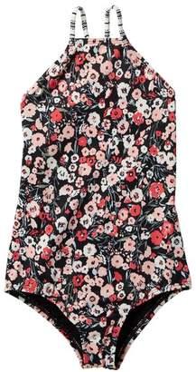 Billabong Ditsy Soul One Piece Swimsuit (Little Girls & Big Girls)