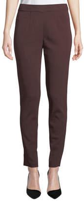 Misook Easy Knit Straight-Leg Pants, Petite
