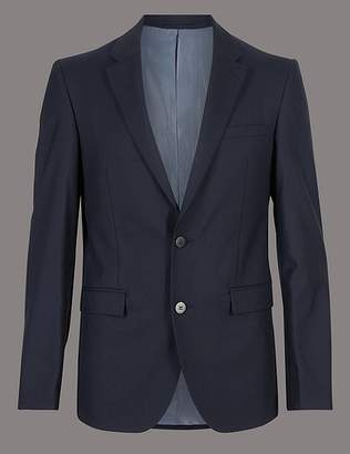 Marks and Spencer Big & Tall Tailored Fit Italian Wool Jacket