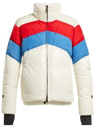 Moncler Grenoble - Lamar Down Filled Ski Jacket - Womens - White Multi