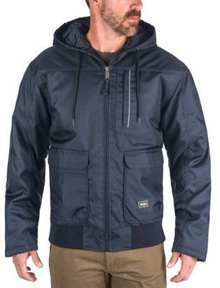 Walls Men's Enduro Zone Poly Duck Insulated Hooded Jacket