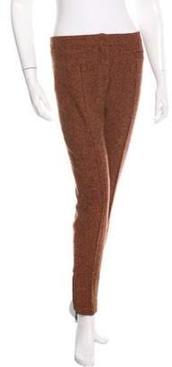 Burberry Virgin Wool Tweed Pants
