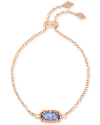 Kendra Scott Elaina Rose Gold Beaded Chain Bracelet