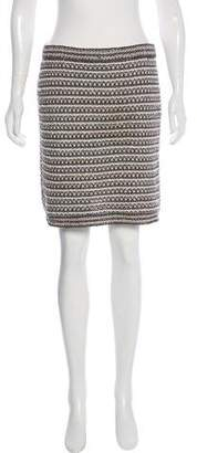 Chanel Bouclé Mini Skirt