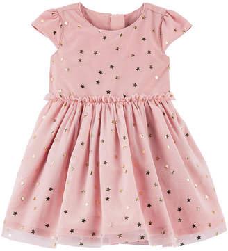Carter's Dress & Diaper Cover Set - Baby Girls
