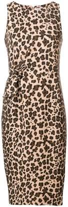 P.A.R.O.S.H. leopard print midi dress