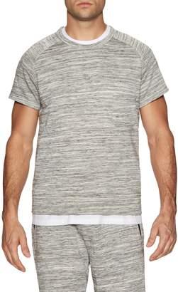 Shades of Grey by Micah Cohen Men's Muscle Sleeve Crewneck Sweatshirt