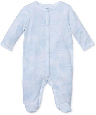 Polo Ralph Lauren (ポロ ラルフ ローレン) - Ralph Lauren Baby Boys Printed Cotton Coverall