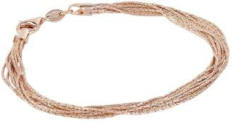 Links of London Rose Gold Silk 10 Row Bracelet
